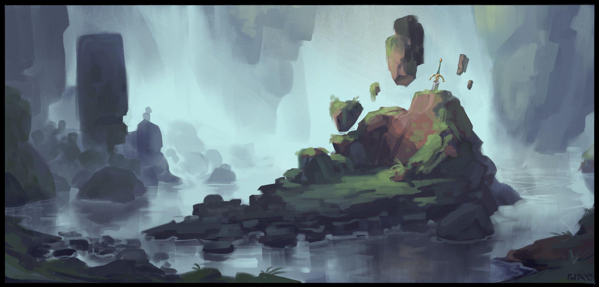 ArtStation - Environment Poops, Max Davenport