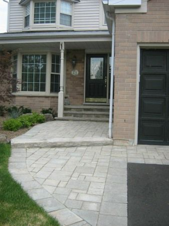 Landscaping Photo Gallery Earthworks Landscaping Asphalt Driveway Landscaping Entrance Front Walk