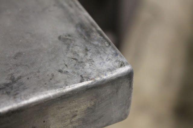 Vanhook Co Aging Zinc Zinc Countertops Metal Countertops Zinc Sheet