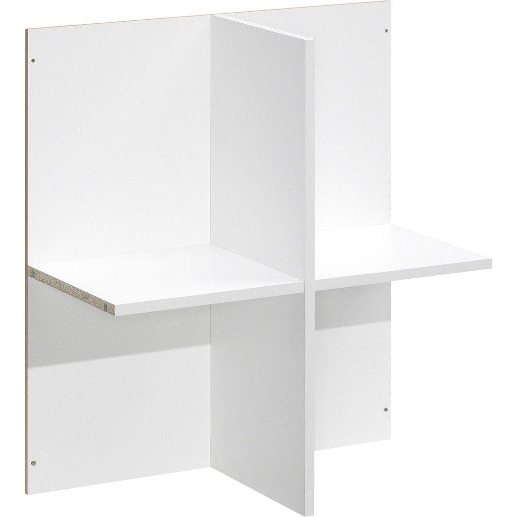 CS SCHMAL REGALEINSATZ 70/78/35 cm Weiß Jetzt bestellen unter: https ...