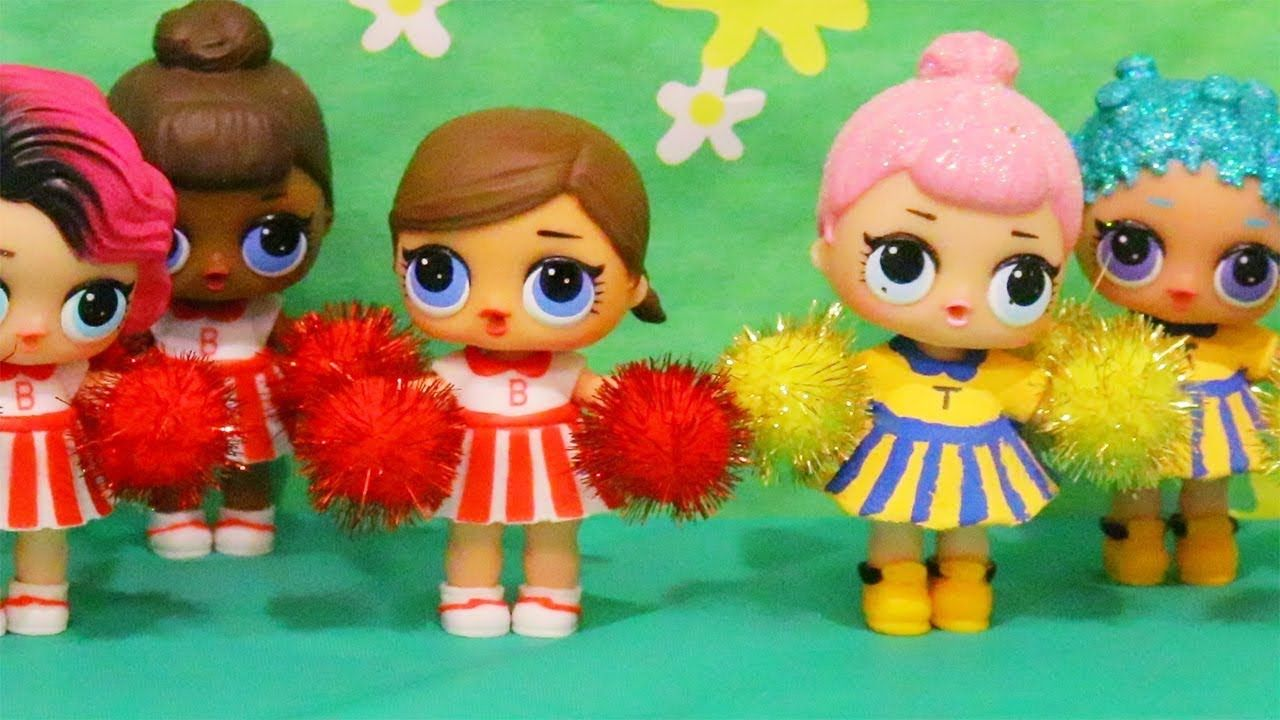 Toys For Kids Lol Surprise Dolls Cheerleader Competition Family Fun Pl Lol Dolls Cute Toys Cheerleading Crafts