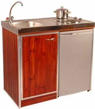 Stove Sink And Fridge Unit Will Be Your Space Saving Companion Hometone Space Savingkitchen Unitssmall