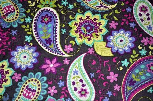 Good Buy Quilt Fabric 1 1/2 Yards Paisley Spree M Miller Fabric Grey | auntiechrisquiltfabric - Craft Supplies on ArtFir