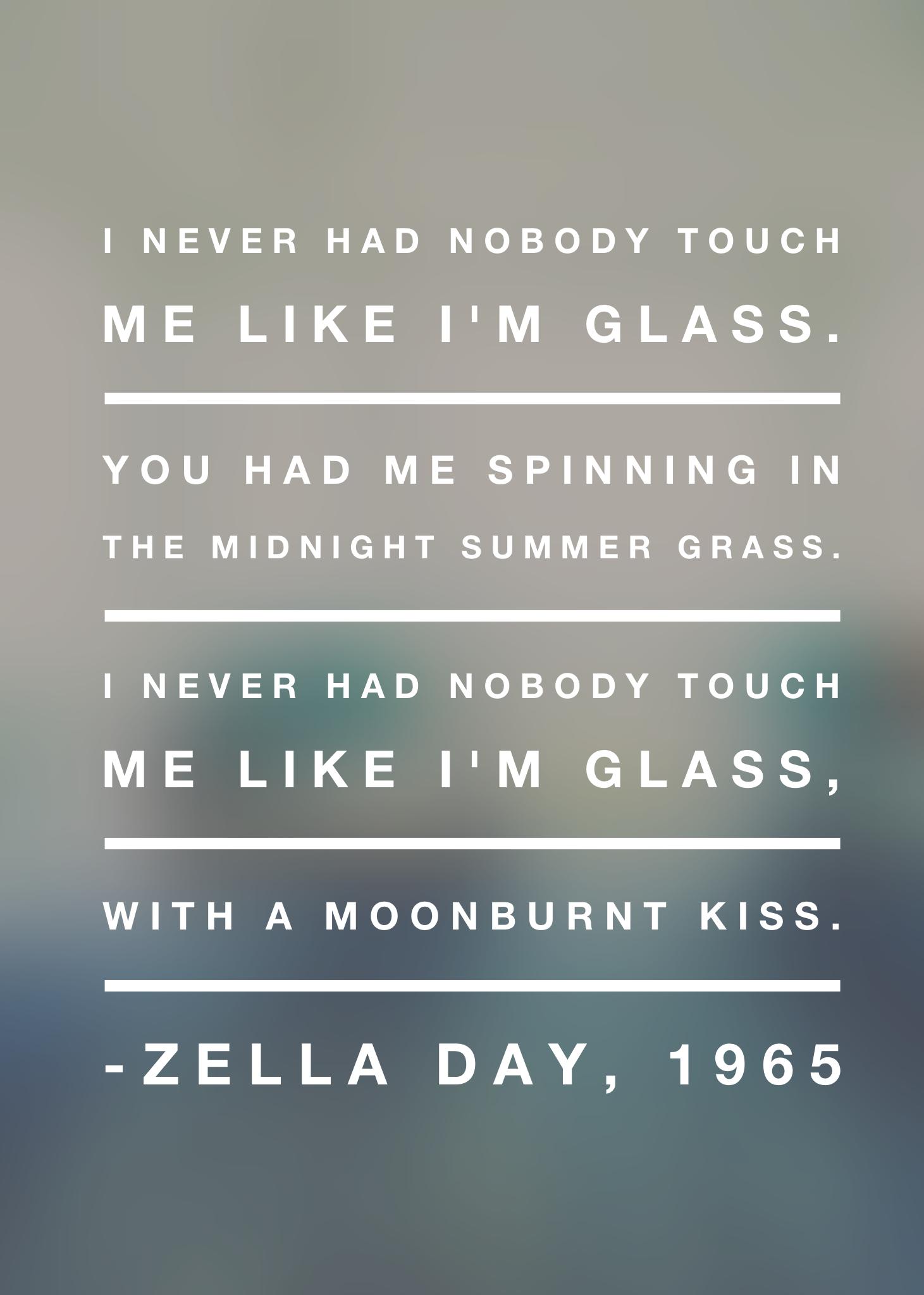 Zella Day 1965 Lyrics Zelladay 1965 Music Lyrics Lyrics