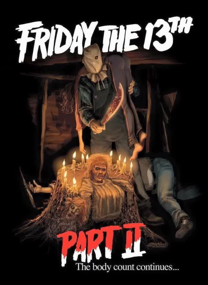 Pin By Hernan Sayago On Jason Voorhees 2 Friday The 13th Friday The 13th Horror Movie Art Horror Posters