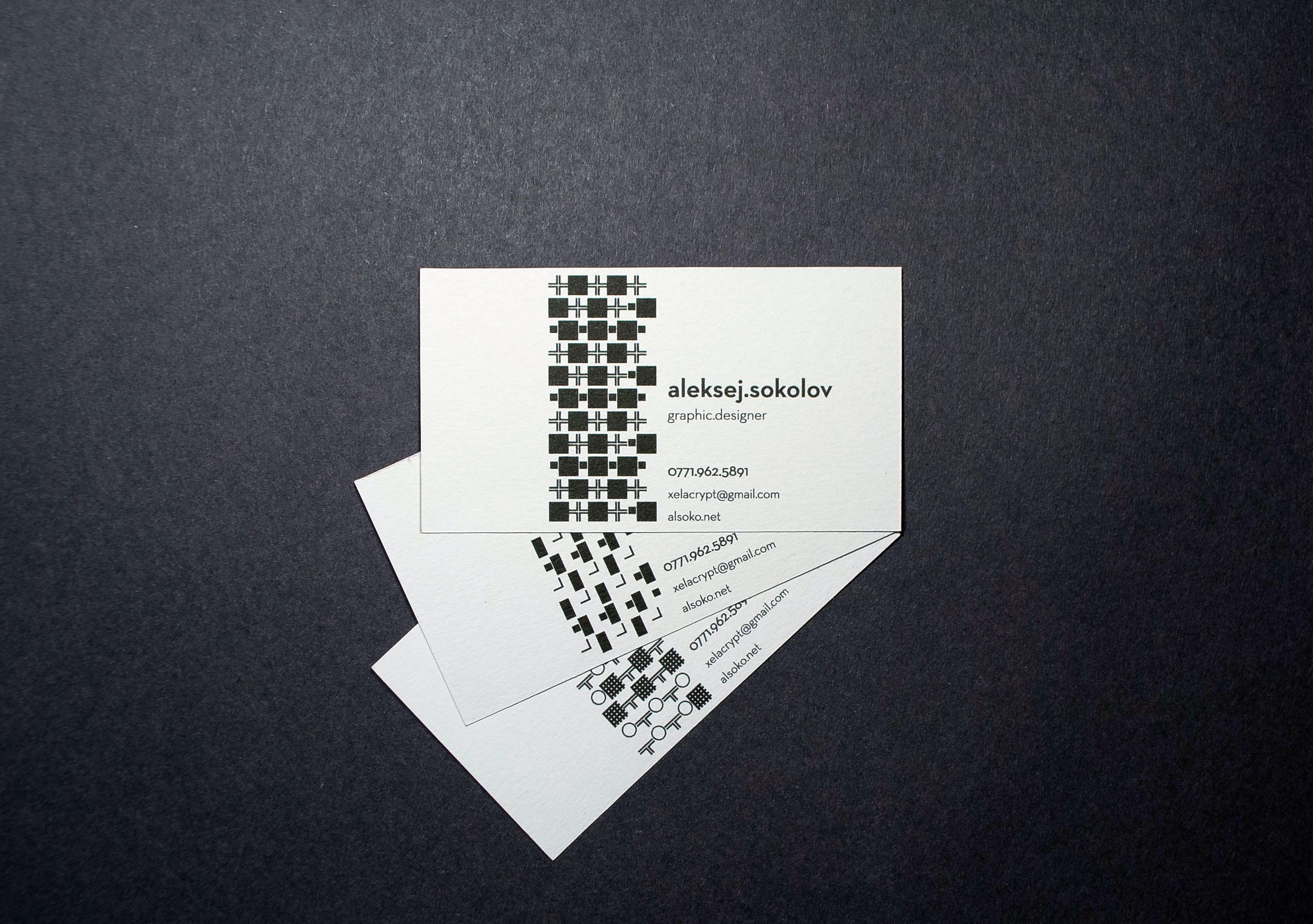 generative business cards made with Processing | meminemine | Pinterest