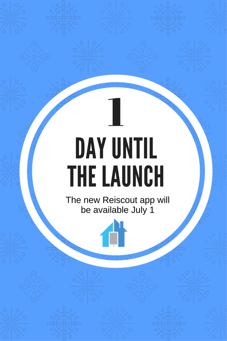 The new REIscout app will be available July 1 reiscout