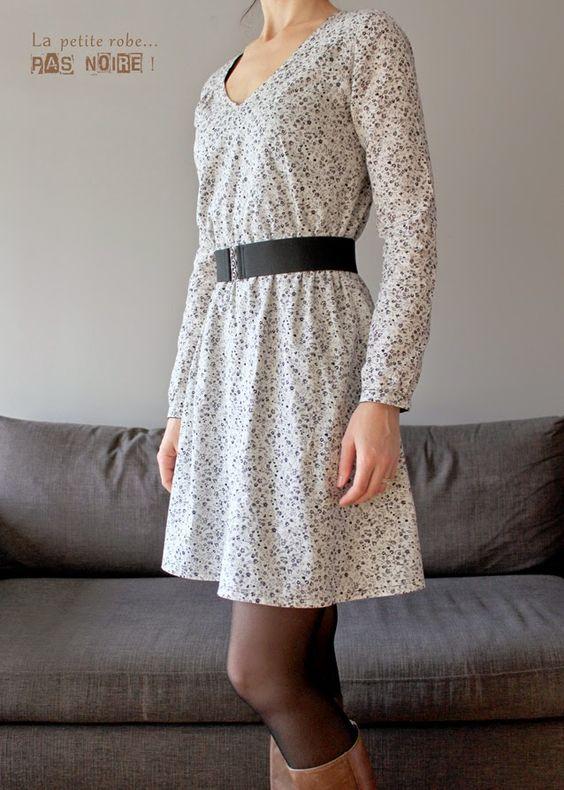 0a4e68f372ca Blouse ou robe femme Be Pretty patron de couture pochette avec vidéo ...