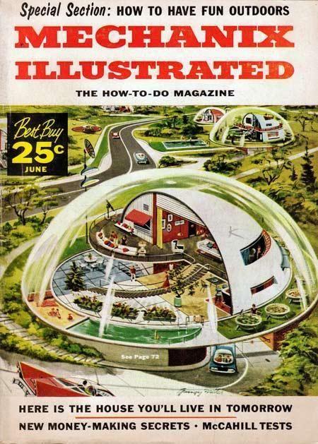 6 Remarkable Retrofuturistic Visions Of 21st Century Life Gadgets Science Technology Retro Futurism Retro Futuristic Vintage Illustration