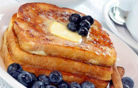 Receta de pl tano tostada francesa desayunos pinterest for Desayunos sin cocinar