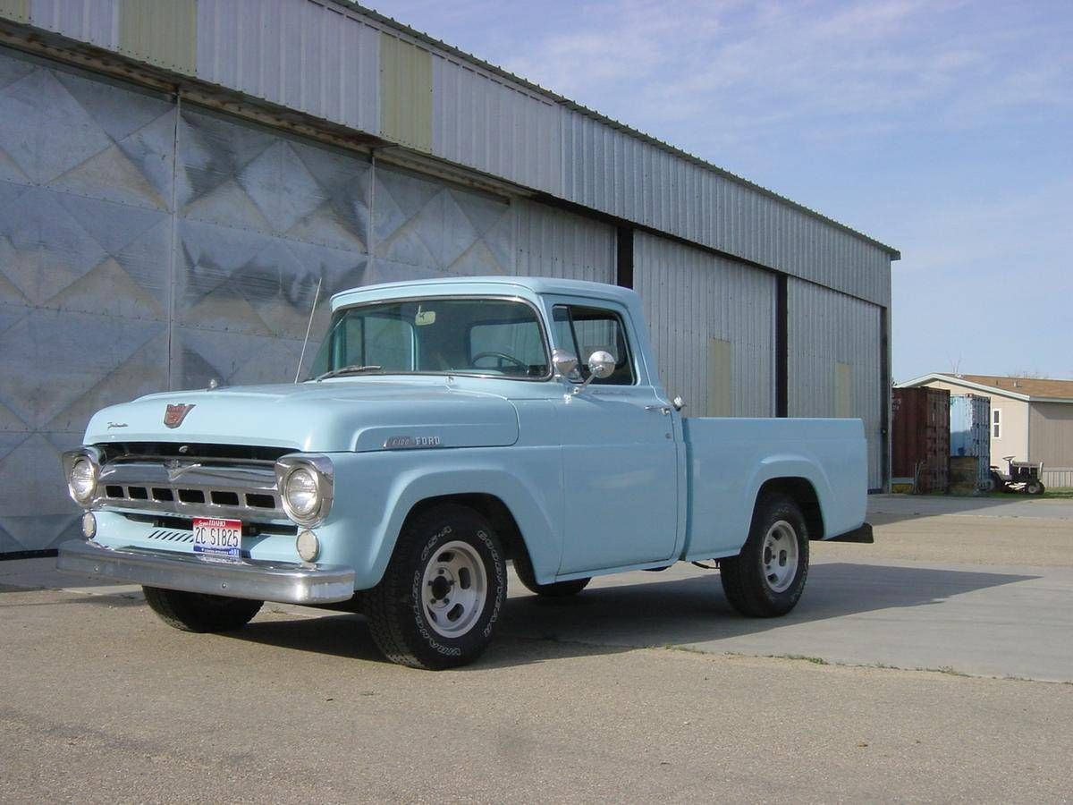 1957 Ford F100 Short Bed Classic Ford Trucks