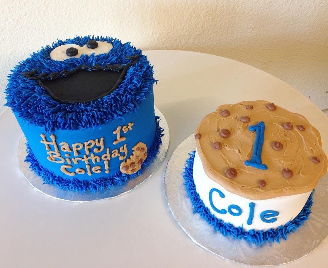 Cookie Monster 1st Birthday Stuffedcakes Customcakes Cookiemonster 1stbirthdaycake By Stuffed Cakes StuffedCakes Custom