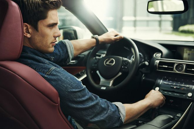 Lexus Just Dropped The Coolest Automotive Shoot Of 2014 Photography Poses For Men Men Photography Car Poses