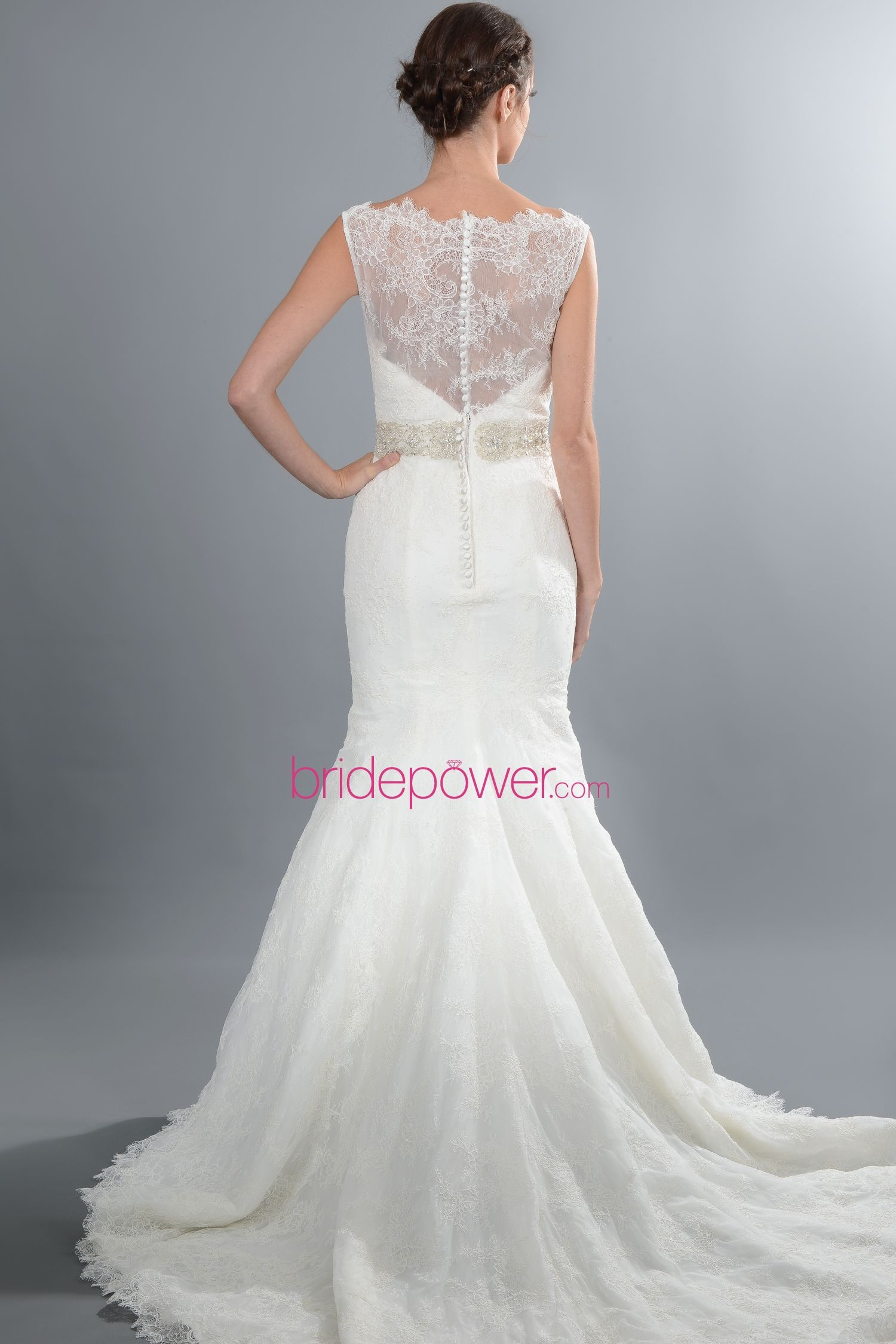 Liv Harris Trumpet (back) - from Vows Bridal Outlet, MA | Rustic ...