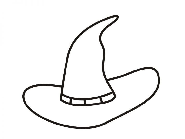 Hat Coloring Pages Halloween Coloring Pages Coloring Pages For