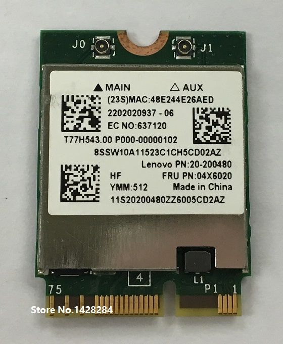 NEW Broadcom BCM94352Z Wireless-AC NGFF 802 11ac 867Mbps