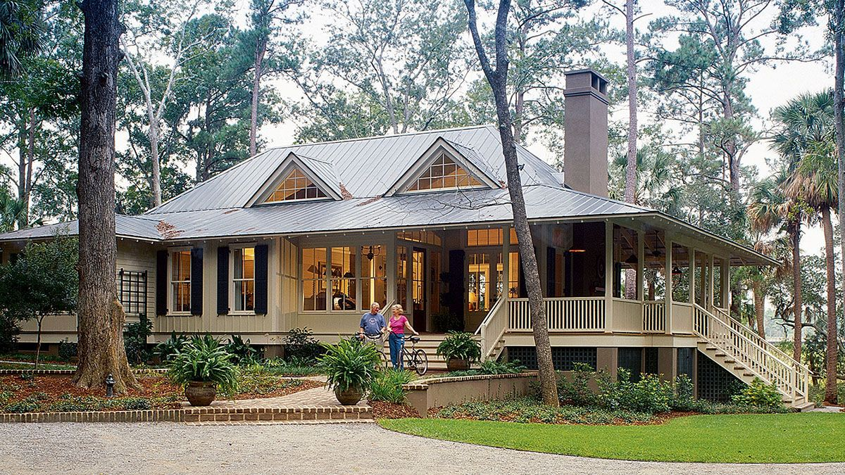 New Tideland Haven Southern Living House Plans Lake House Plans Modern Farmhouse Exterior