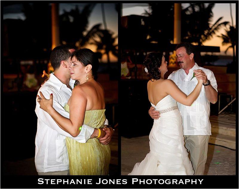 Parent Dances Bride Groom At Destination Wedding Puerto Rico