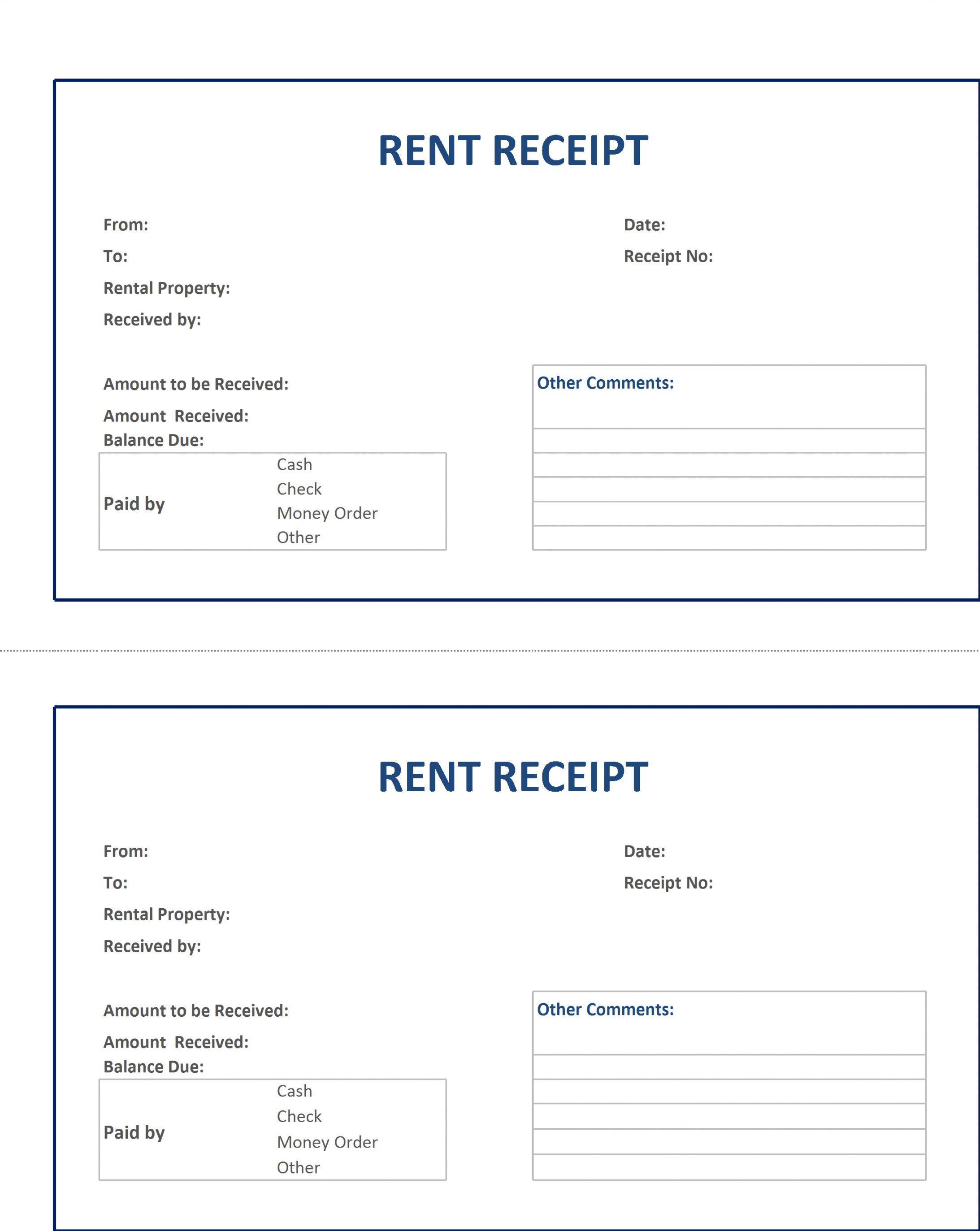 Browse Our Example Of Home Rent Receipt Template Receipt Template Invoice Template Invoice Template Word