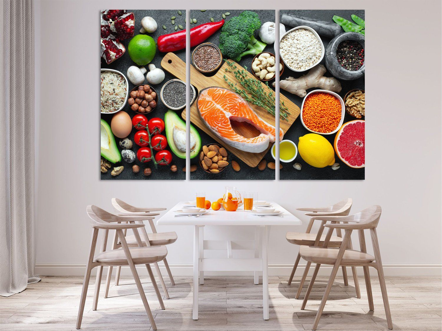 Product Photography Spice Rack Kitchen Wall Decor Extra Large Wall Art Canvas Extralargewalldecor Extral Food Wall Art Kitchen Wall Art Large Canvas Wall Art