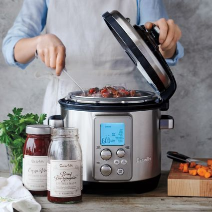 Breville Fast Slow Pro Pressure And Slow Cooker Breville Fast Slow Pro Fast And Slow Slow Cooker