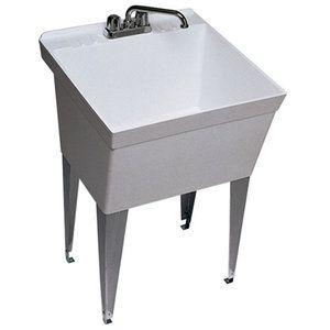 Garage Deep Sink Swanstone Smf1f Veritek Laundry Sink Laundry