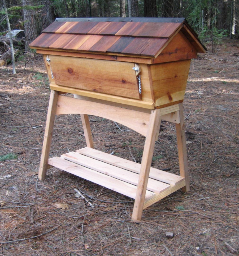 top-bar bee hive | All about Raising Bees & collecting ...