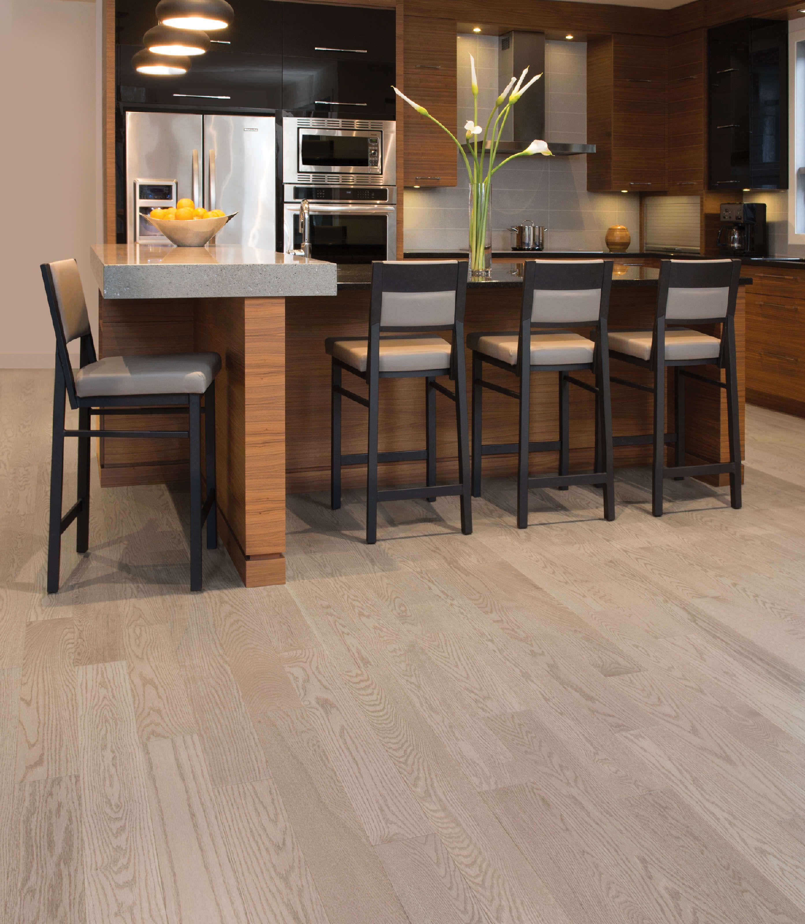 Red Flooring Kitchen: Oak Hardwood Flooring, Hardwood
