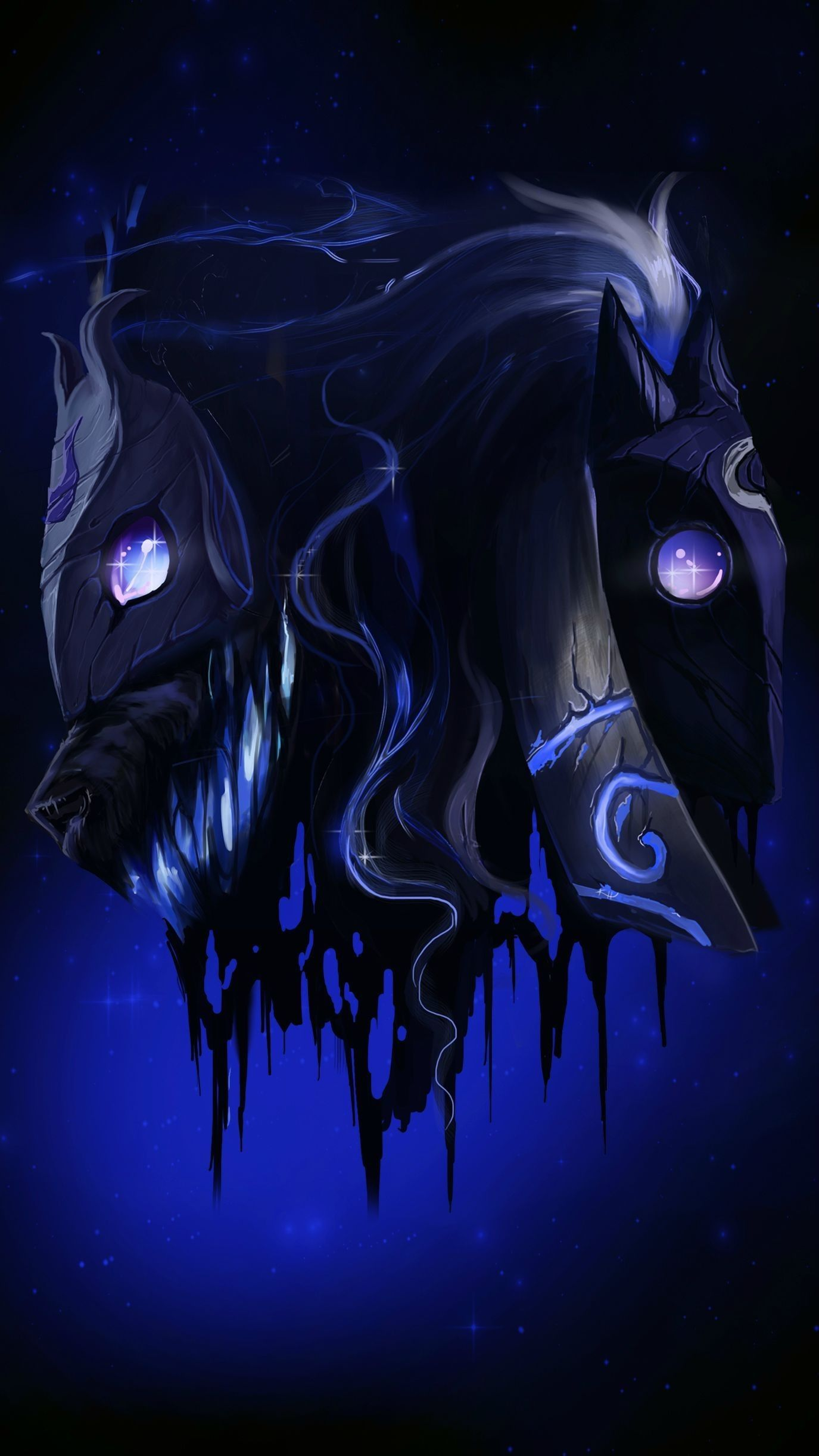 82 Kindred Lol Wallpapers On Wallpaperplay Lol League Of