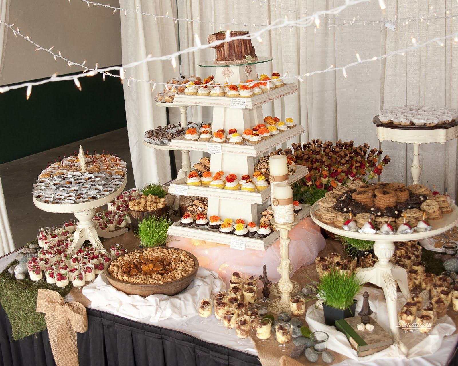 Have Your Friends And Family Help Out With Dessert At Your Reception ...
