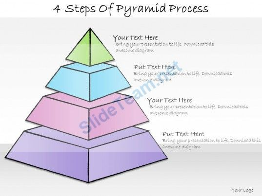 Business Ppt Diagram  Steps Of Pyramid Process Powerpoint