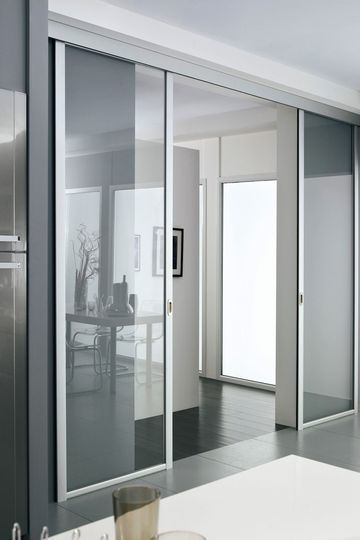 porte coulissante galandage lapeyre en applique portes pinterest portes. Black Bedroom Furniture Sets. Home Design Ideas
