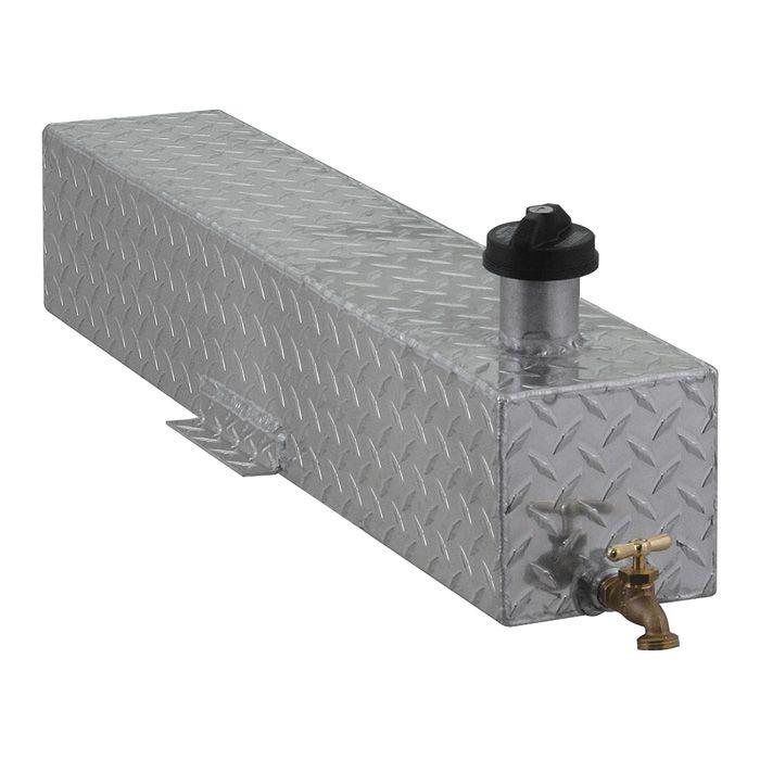 Diamond Plated 5 Gallon Aluminum Mounted Water Storage Tank Www Kotulas Com Free Shipping Diamond Plate Water Storage Tanks Storage Tank