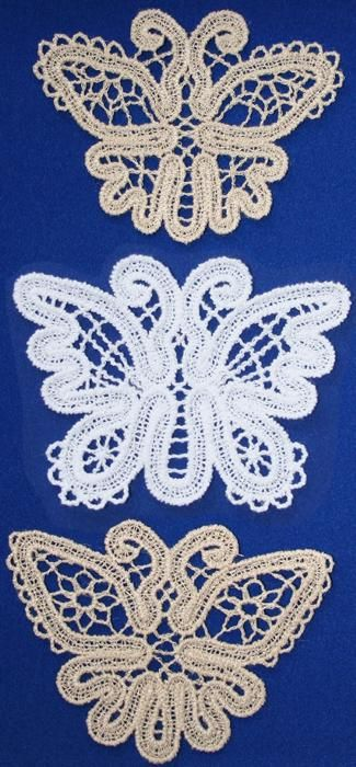 Advanced Embroidery Designs - FSL Battenberg Butterfly Lace Set