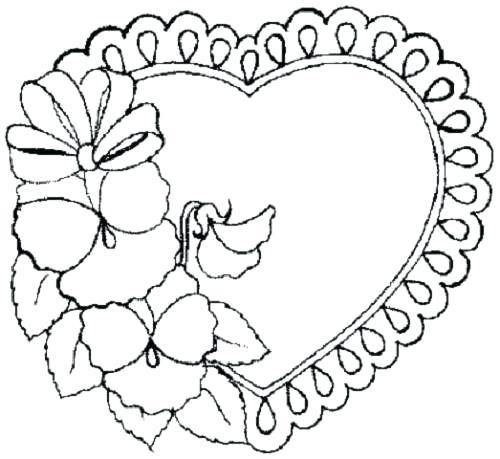 Love Heart Coloring Pages Color Page Butterfly An Overview Of All