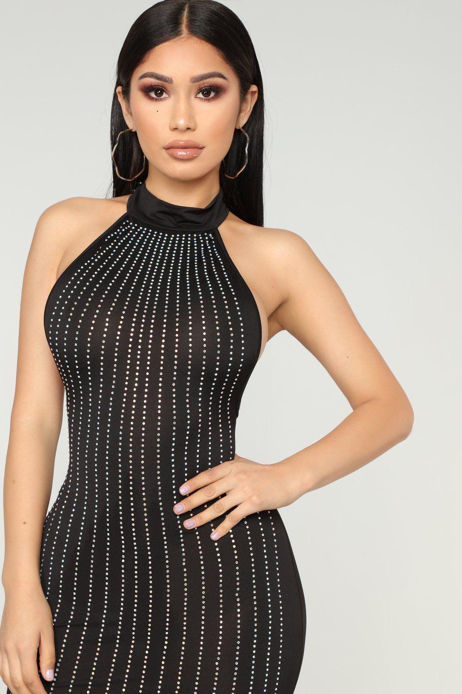 Party Favors Rhinestone Dress Black Black Dress Rhinestone Dress Shop Black Dresses [ 1500 x 1000 Pixel ]