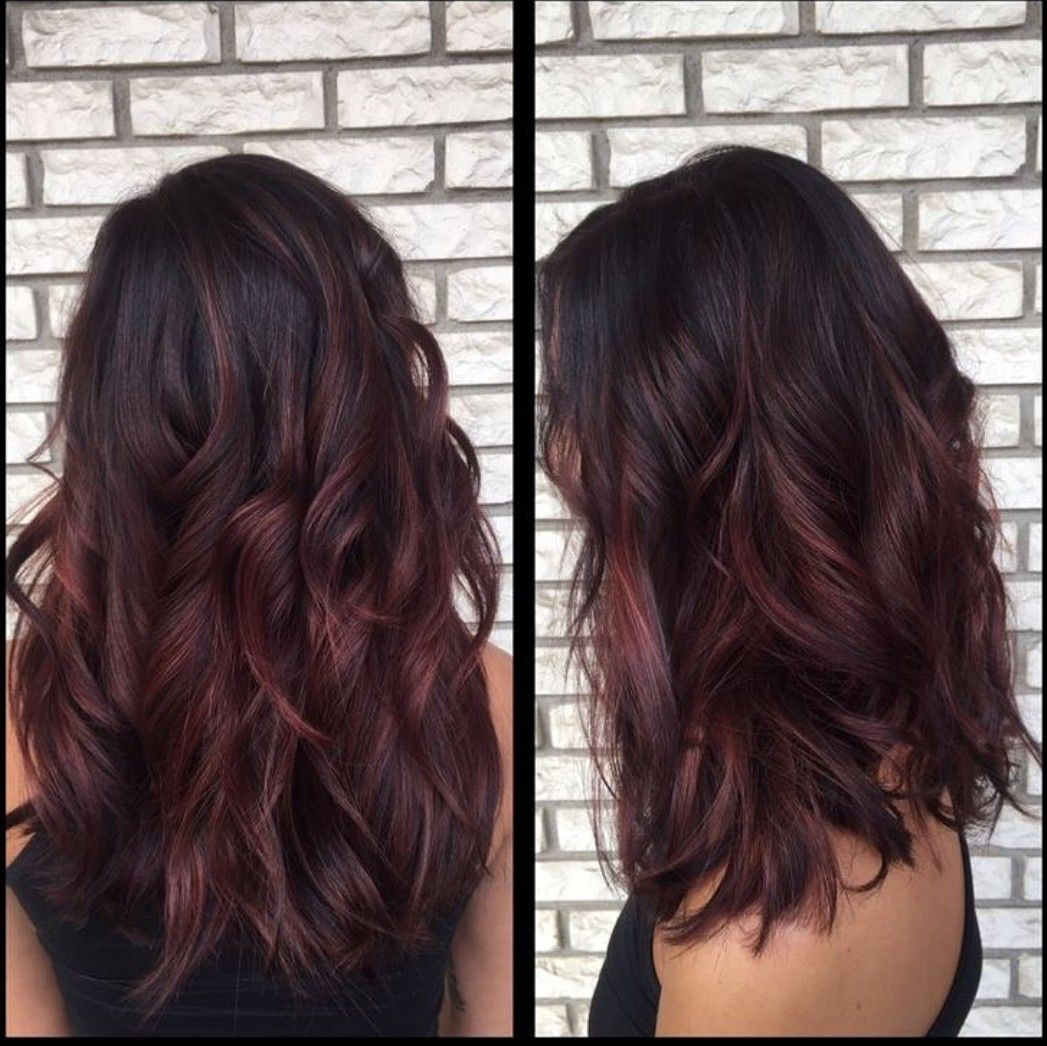 Pin By Florencia Martinez On Cabello With Images Balayage Hair Red Balayage Hair Auburn Hair Balayage