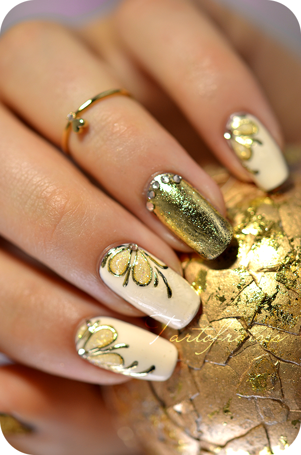 Nail Art Antique Gold Foil Gel This Website Has Some Of The Most
