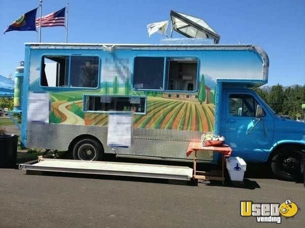 Chevy Food Truck   mobile kitchen for Sale in Idaho   Commercial ...