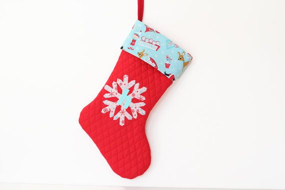 Baby Boy Fiirst Christmas Stocking Baby Boy by EnchantedPaisley