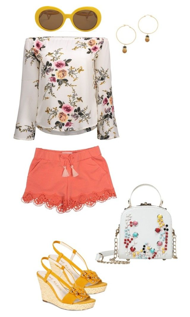 """""""Sunny Days"""" by artisticstyler on Polyvore featuring Chloé, Anne Klein and Noir Jewelry"""