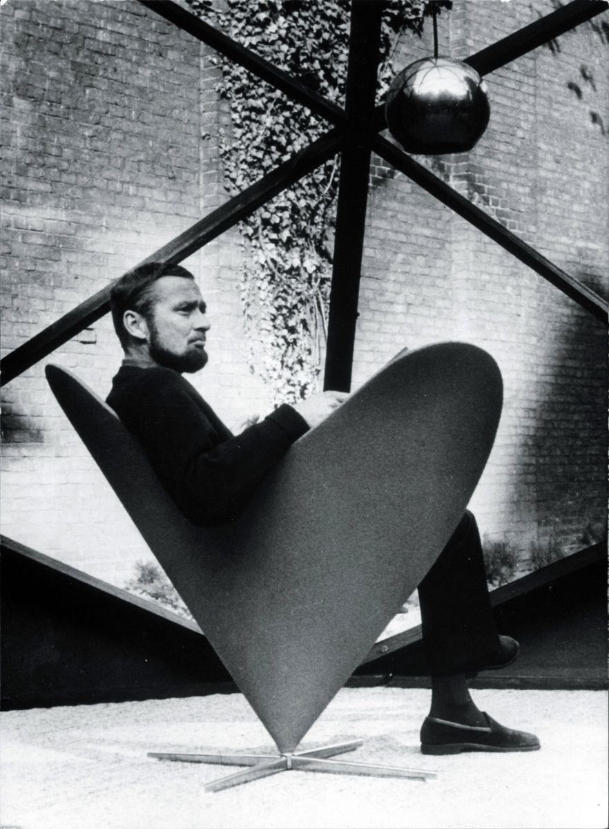 Verner panton designer beard pantone chair furniture