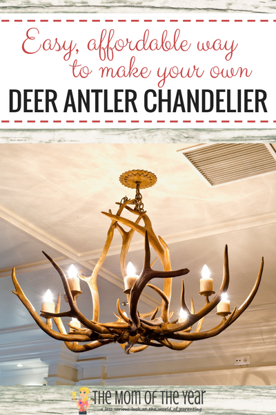 Diy Deer Antler Chandelier Deer Antler Chandelier Antler