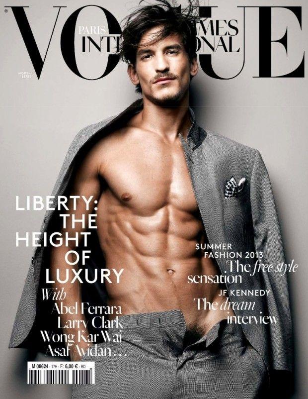 cool Vogue Hommes International Primavera.Verão 2013| Jarrod Scott por Sølve Sundsbø