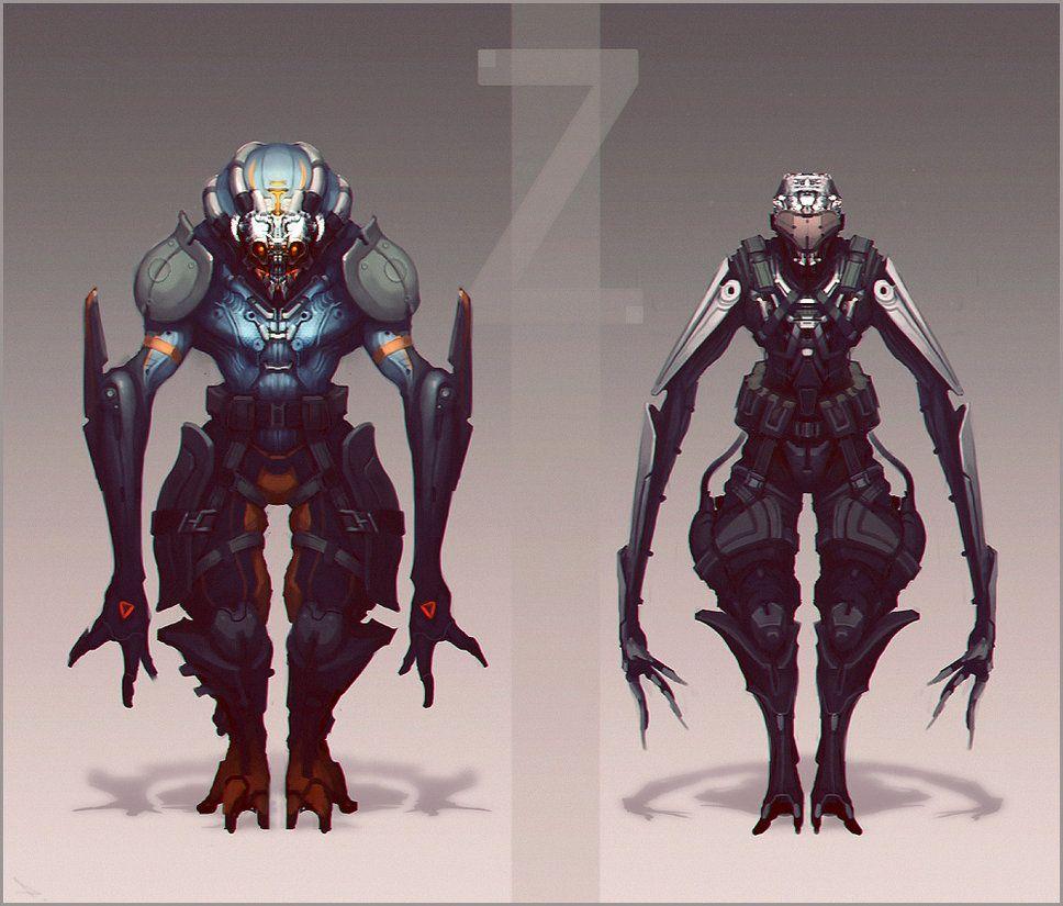 Z-Warriors by BelovP on DeviantArt