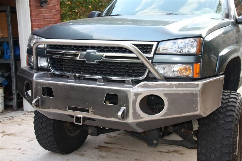 Gmc Duramax Custom Bumper : My custom bumper build page diesel place chevrolet