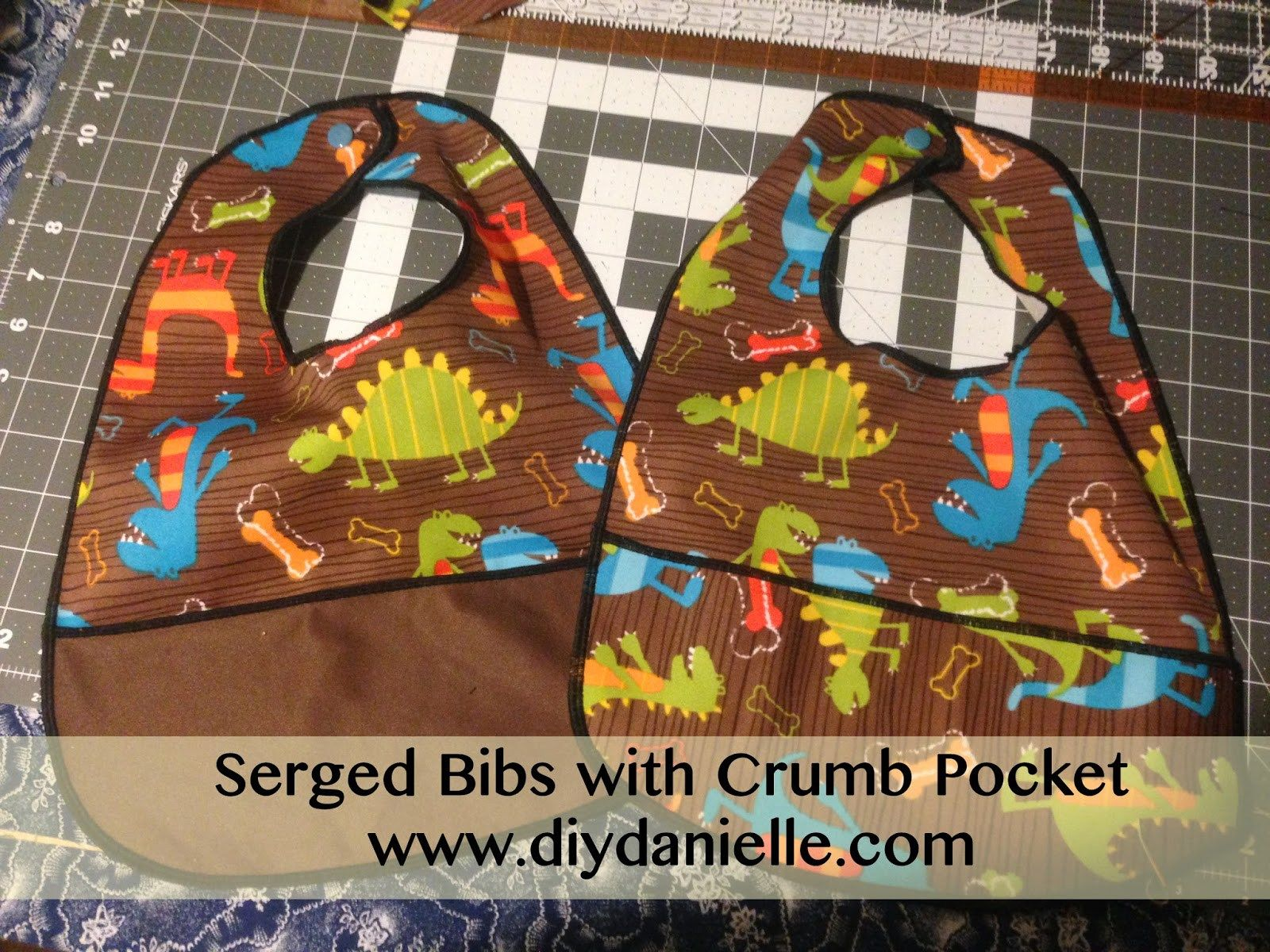 serged bibs bibs and sew baby