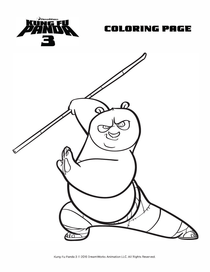 kung fu panda 3 coloring pages Kung Fu Panda 3   Giveaway | Kids Party Ideas | Pinterest | Kung  kung fu panda 3 coloring pages