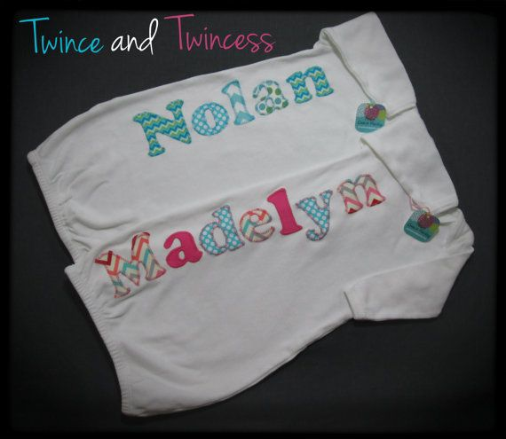 Boy girl twin gift personalized twin gowns twin going home outfits boy girl twin gift personalized twin gowns twin going home outfits twin baby shower gift negle Choice Image