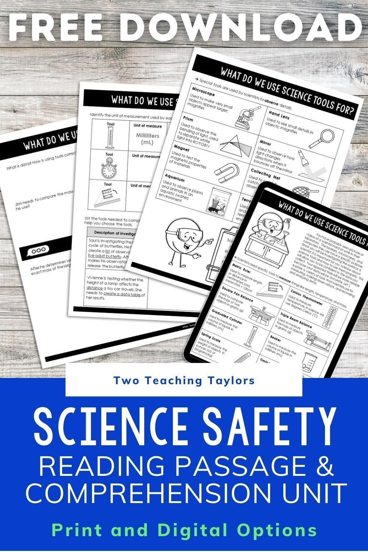 Science Safety Activities Freebie Science Safety Science Safety Activities Cooperative Learning Activities